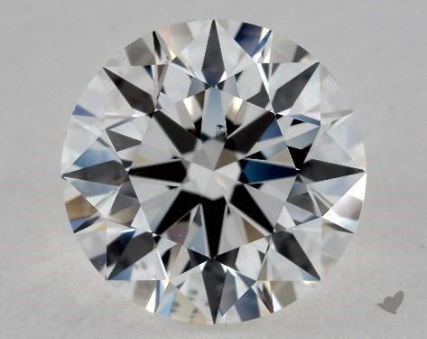 1.34 Carat F-VS2 Excellent Cut Round Diamond