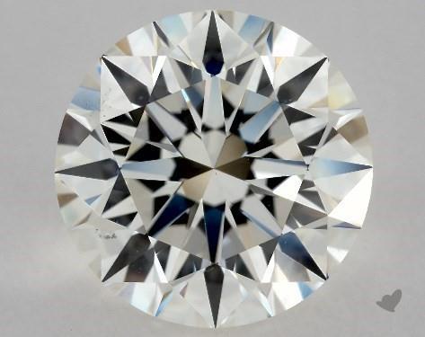 2.70 Carat I-VS2 Excellent Cut Round Diamond