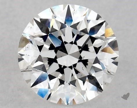 3.10 Carat E-VS2 Excellent Cut Round Diamond
