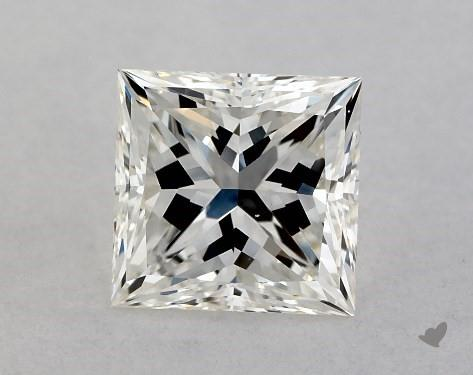 1.00 Carat H-VS2 Ideal Cut Princess Diamond