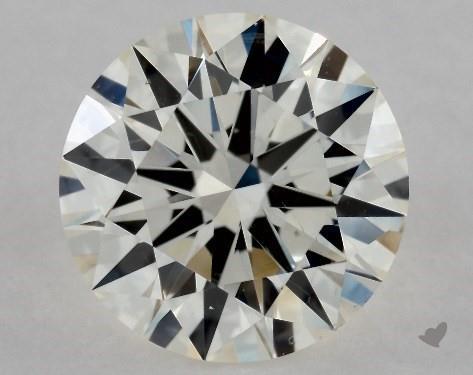 0.90 Carat I-SI1 Excellent Cut Round Diamond