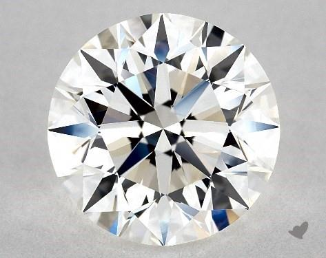 2.50 Carat H-VVS1 Excellent Cut Round Diamond