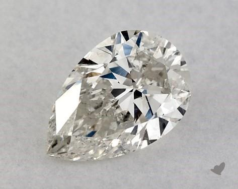 <b>0.50</b> Carat I-SI2 Pear Cut Diamond