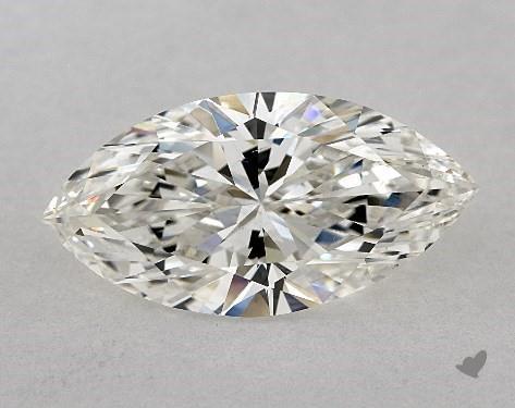 2.51 Carat H-VS2 Marquise Cut Diamond