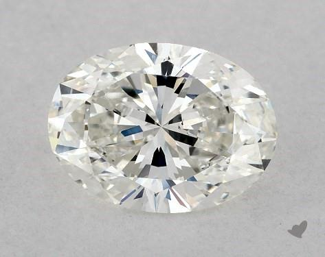 1.03 Carat H-VS2 Oval Cut Diamond