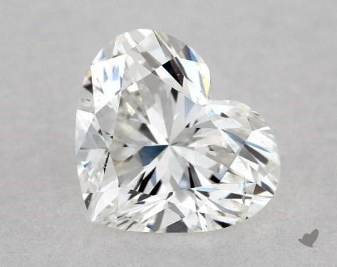 0.51 Carat F-SI2 Heart Shape Diamond
