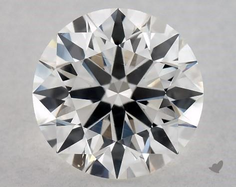 1.02 Carat G-SI1 True Hearts<sup>TM</sup> Ideal Diamond