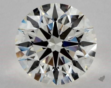 4.05 Carat J-VS2 Excellent Cut Round Diamond