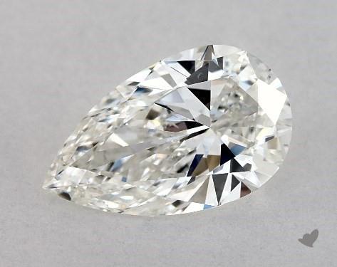 1.02 Carat H-VS2 Pear Shape Diamond