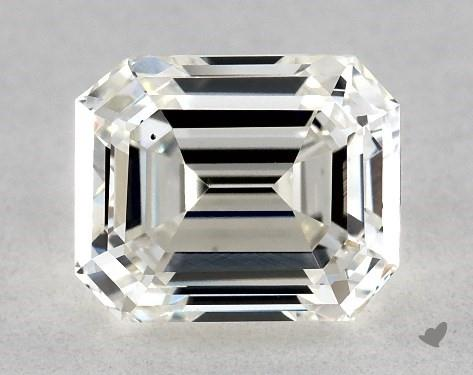 1.01 Carat H-SI1 Emerald Cut Diamond