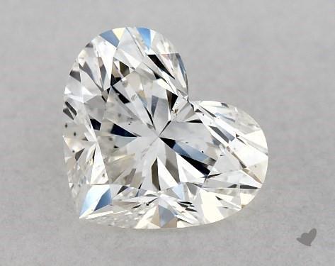 1.04 Carat G-SI1 Heart Shape Diamond