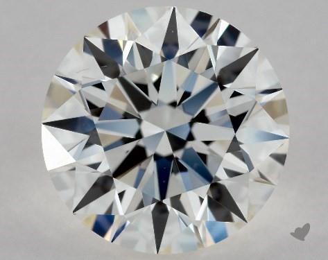 1.32 Carat H-VS2 Excellent Cut Round Diamond