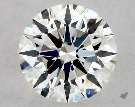 <b>0.35</b> Carat K-SI2 Excellent Cut Round Diamond