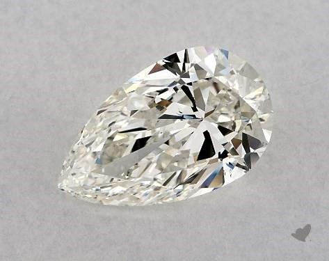 1.70 Carat H-VS2 Pear Shape Diamond