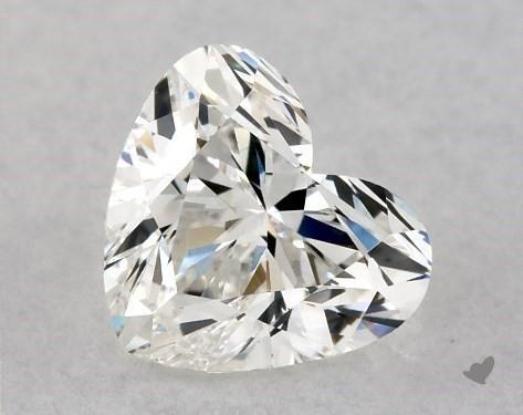 0.70 Carat H-VS2 Heart Shape Diamond