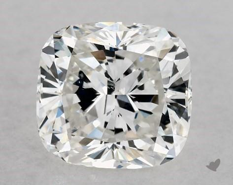 1.00 Carat F-SI1 Cushion Modified Cut Diamond