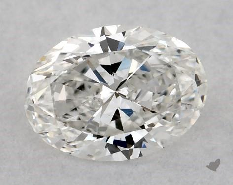 <b>0.40</b> Carat E-SI1 Oval Cut Diamond