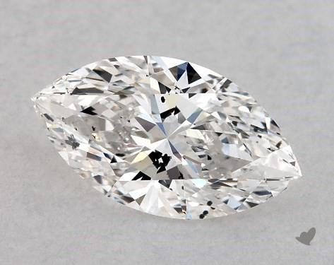 1.02 Carat F-SI1 Marquise Cut Diamond