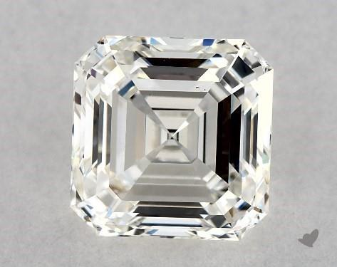 2.04 Carat H-VS2 Square Emerald Cut Diamond