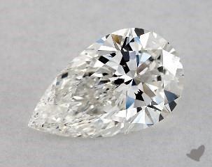 5e35b33a7b03 Pear Shaped Loose Diamonds - Magnified in 360° HD