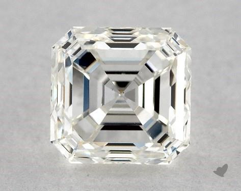 1.06 Carat H-VS1 Square Emerald Cut Diamond
