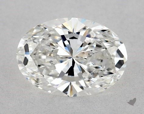 1.51 Carat E-VVS2 Oval Cut Diamond