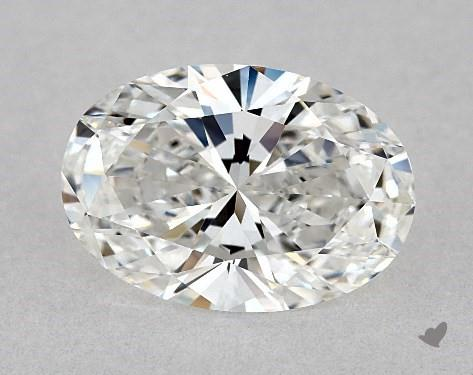 1.50 Carat F-VVS1 Oval Cut Diamond