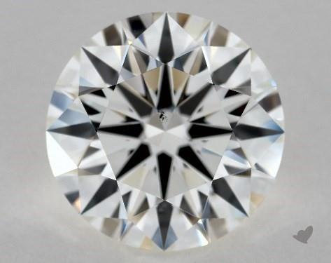 2.03 Carat I-VS2 Excellent Cut Round Diamond