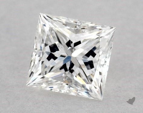 <b>0.38</b> Carat F-SI2 Princess Cut Diamond