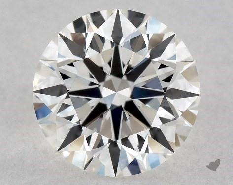 0.72 Carat H-VS2 Excellent Cut Round Diamond