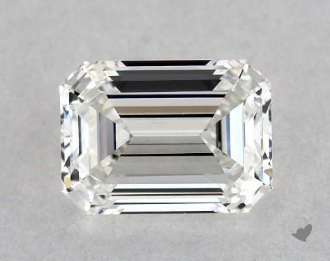 0.70 Carat H-VS1 Emerald Cut Diamond