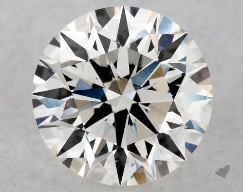 0.73 Carat H-VS2 Excellent Cut Round Diamond