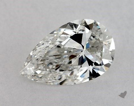 1.00 Carat H-VS2 Pear Shape Diamond
