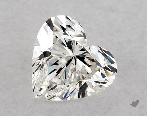 0.80 Carat H-VS2 Heart Shape Diamond