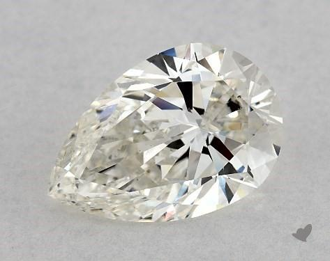 1.70 Carat H-VS2 Pear Shape Diamond