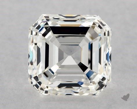 1.00 Carat H-VS1 Square Emerald Cut Diamond
