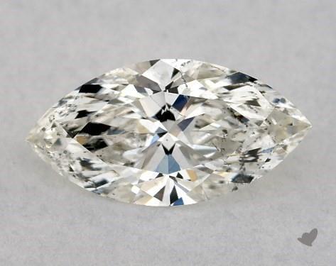 <b>0.53</b> Carat I-SI2 Marquise Cut Diamond