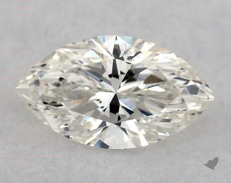 0.46 Carat I-SI2 Marquise Cut Diamond