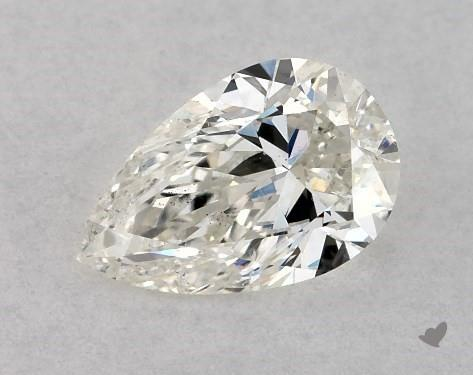 0.46 Carat I-SI2 Pear Shape Diamond