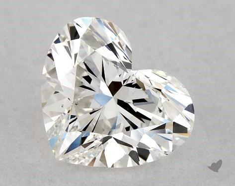 0.90 Carat H-VS2 Heart Shape Diamond