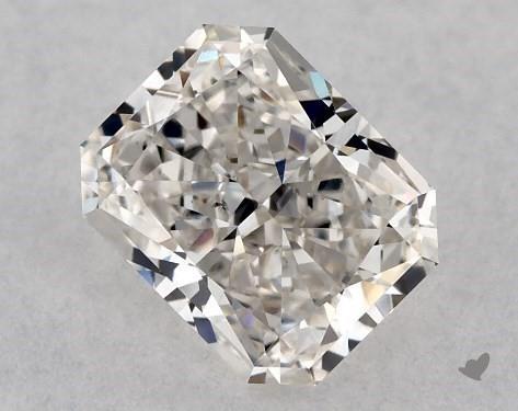 0.80 Carat H-VS2 Radiant Cut Diamond