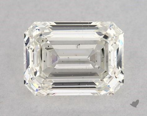 2.01 Carat H-SI2 Emerald Cut Diamond