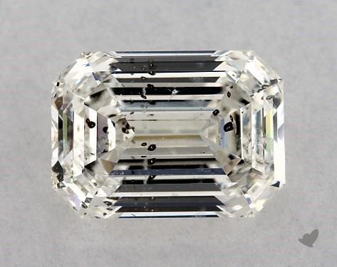 1.60 Carat H-SI2 Emerald Cut Diamond