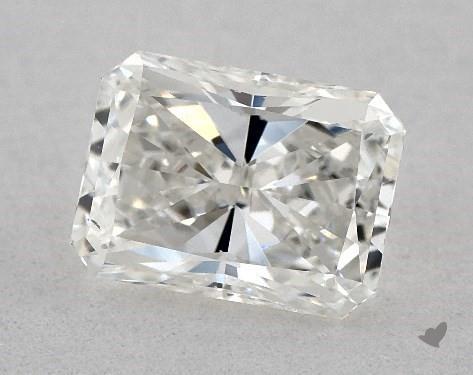 0.90 Carat H-VS2 Radiant Cut Diamond