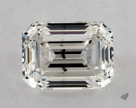 1.21 Carat H-SI2 Emerald Cut Diamond