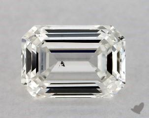 1c3f914e7 emerald 1.00 Carat H SI1 .