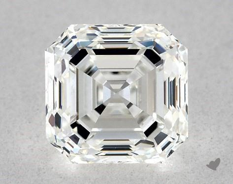1.01 Carat H-VVS1 Square Emerald Cut Diamond