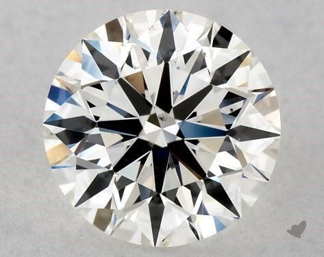 0.70 Carat H-VS2 Excellent Cut Round Diamond