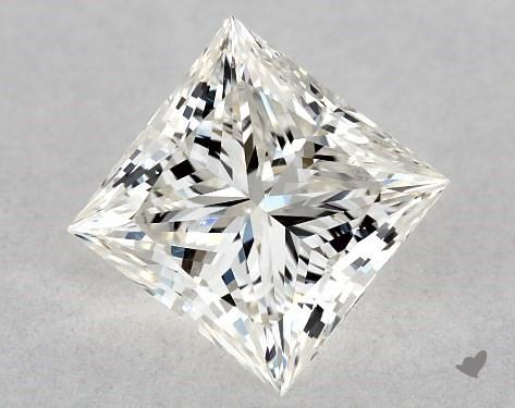 0.73 Carat H-VS2 Ideal Cut Princess Diamond