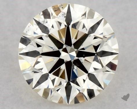 0.37 Carat M-SI1 Excellent Cut Round Diamond
